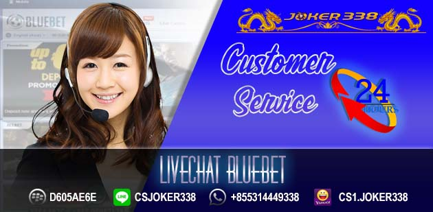 Livechat Bluebet
